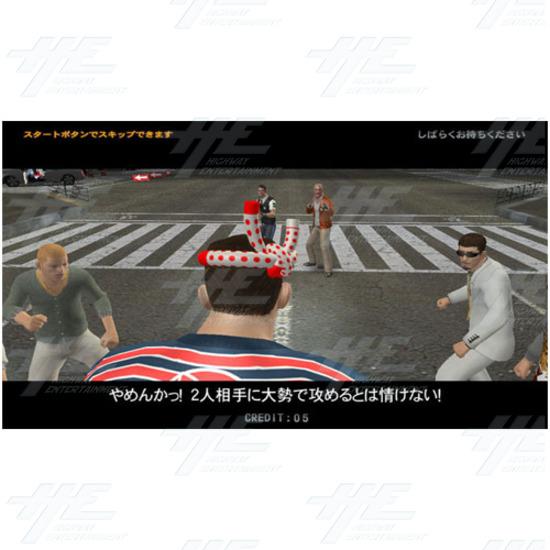 Action Deka Arcade Machine - Screenshot