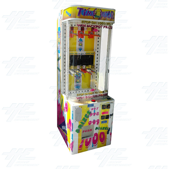 Time Buster Redemption Machine (not working) - time-bustersleft-angle-view.jpg