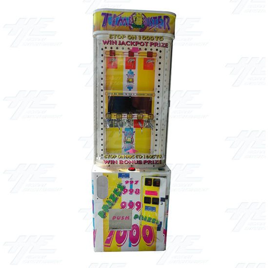 Time Buster Redemption Machine (not working) - time-busters-front-view.jpg