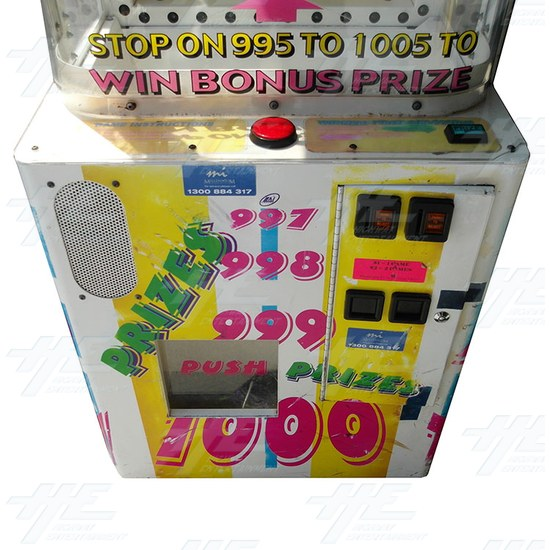 Time Buster Redemption Machine (not working) - time-busters-frontpanel-view.jpg