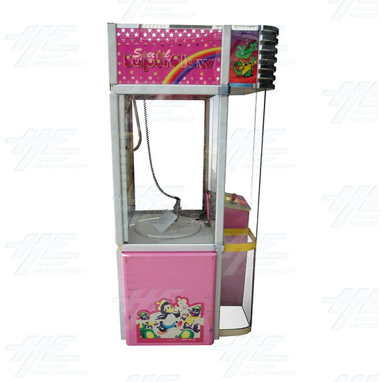 W & P Catcher - Special Super Claw Crane Machine - M-&-W-Crane-rightside-view.jpg