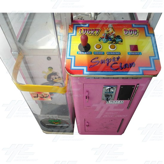 W & P Catcher - Special Super Claw Crane Machine - M-&-W-Crane-panel-view.jpg