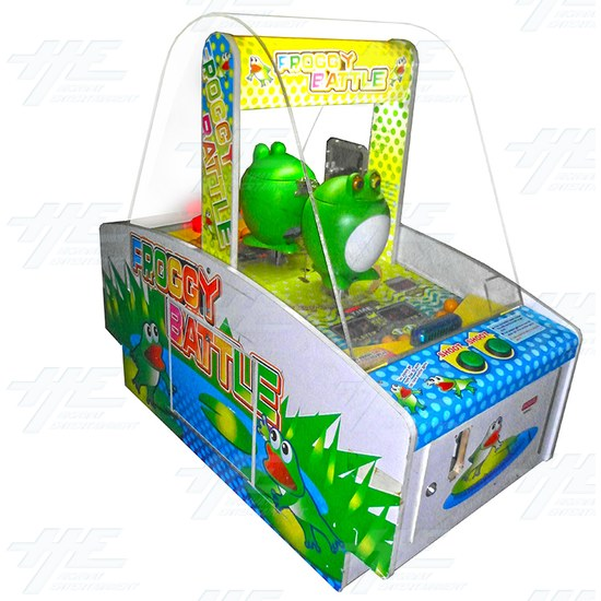 Froggy Battle Ticket Redemption Machine - Froggy Battle Angle View