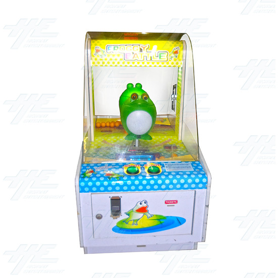 Froggy Battle Ticket Redemption Machine - Froggy Battle Front View