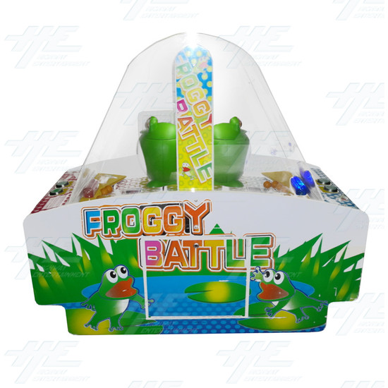 Froggy Battle Ticket Redemption Machine - Froggy Battle Side View