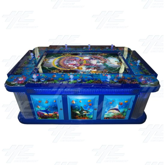 Arcooda 8 Player Fish Machine - Deluxe Edition - Arcooda 8 player fish machine top view 6894.png