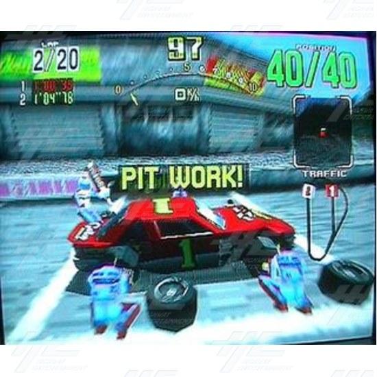 Daytona USA Twin Driving Arcade Machine  - Screenshot