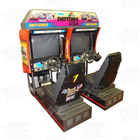 Daytona USA Twin Driving Arcade Machine (Japan Model) - Full Cabinet