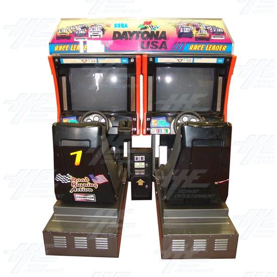 Daytona USA Twin Driving Arcade Machine (Japan Model) - Front