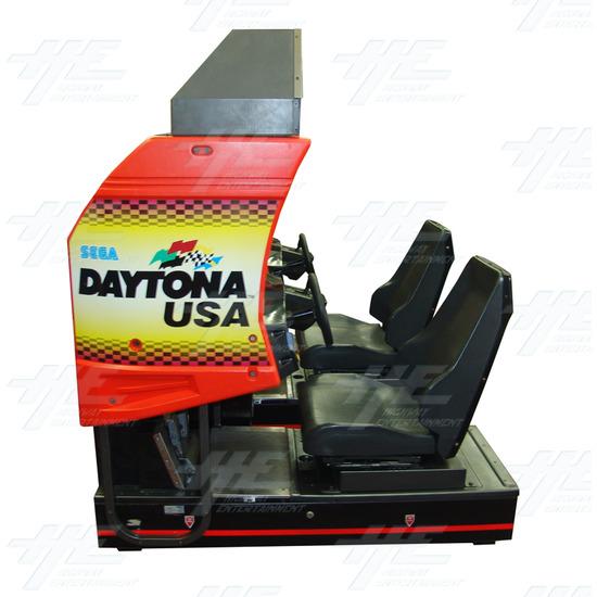 Daytona USA Twin Driving Arcade Machine (Japan Model) - Side Cabinet