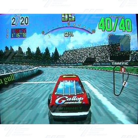 Daytona USA Twin Driving Arcade Machine (Japan Model) - Screenshot