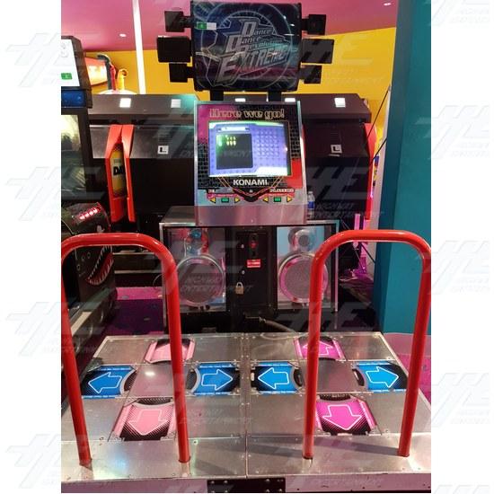 Dance Dance Revolution Extreme (8th Mix) Arcade Machine - Dance Dance Revolution Extreme 8th Mix