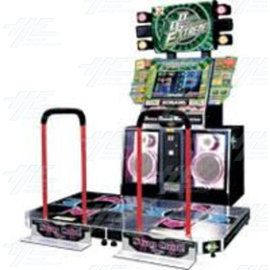 Dance Dance Revolution Extreme (8th Mix) Arcade Machine - Cabinet