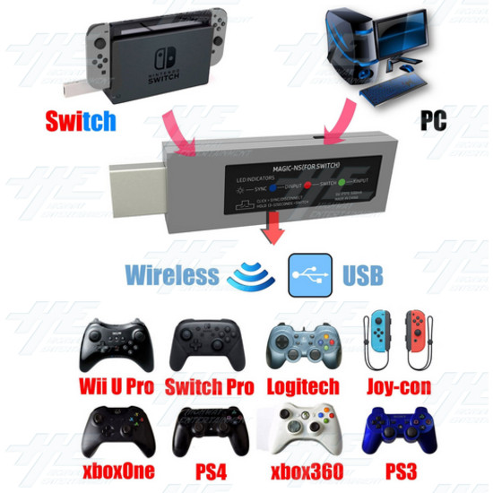 Mayflash Nintendo Switch Magic-NS Wireless Controller Adapter [nintendo_switch]  - Ns 4.PNG