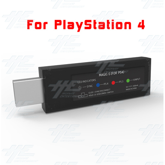 MAGIC-S Wireless Controller Adapter for PS4, PS3 & PC by Mayflash [sony_playstation3,playstation_4]  - s 4.PNG