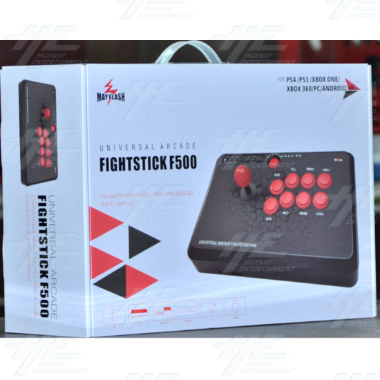 Mayflash F500 Arcade Fight Stick For PS4/PS3/XBOX ONE/XBOX 360/PC/Android  - f500 1.PNG