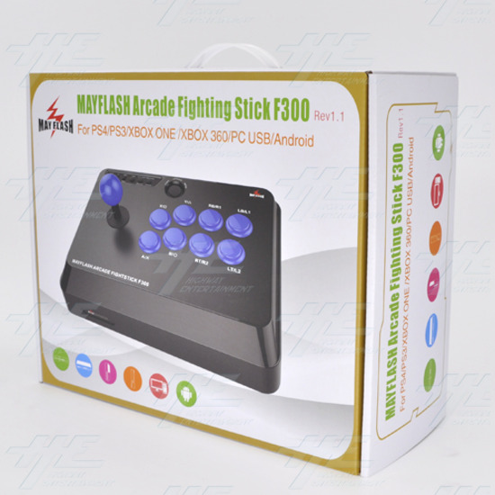 Mayflash F300 Arcade Fight Stick Joystick For PS4 PS3 XBox One 360 Pc & Switch - f300 2.jpg