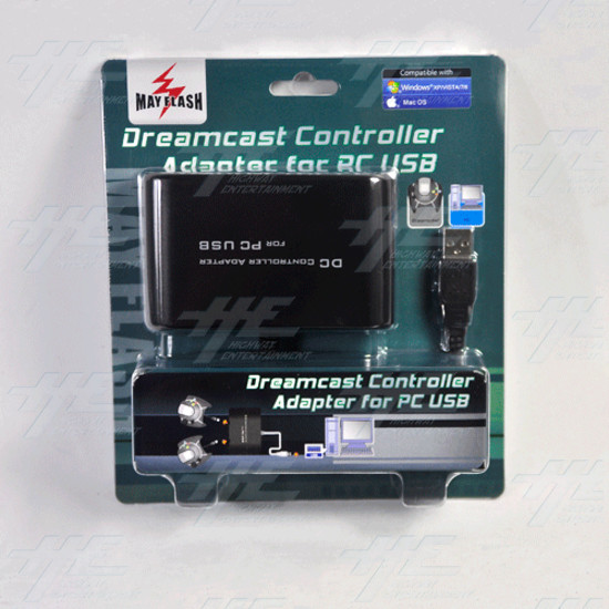 Mayflash Dreamcast Controller To Pc Usb Converter Adapter [Mayflash]  - pc049.gif