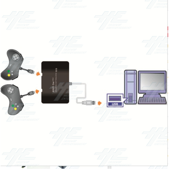Mayflash Totalconsole Mayflash Ss Sega Saturn Controller Adapter Converter For Pc  - pc050 2.PNG