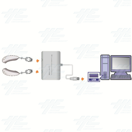 Wii Classic controller to PC USB (Mayflash) - pc052 3.jpg