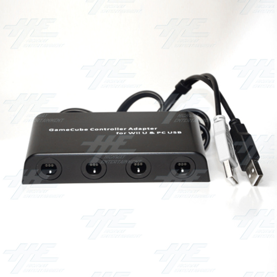 Mayflash GameCube Controller Adapter for Wii U, PC USB and Switch, 4 Port  - w012 1.jpg