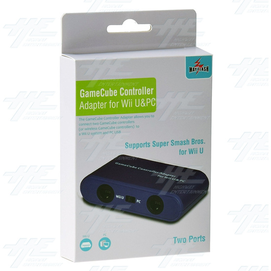Mayflash Gamecube Controller Adapter For Wii U Pc Usb And Switch Two Ports - w013 2.jpg