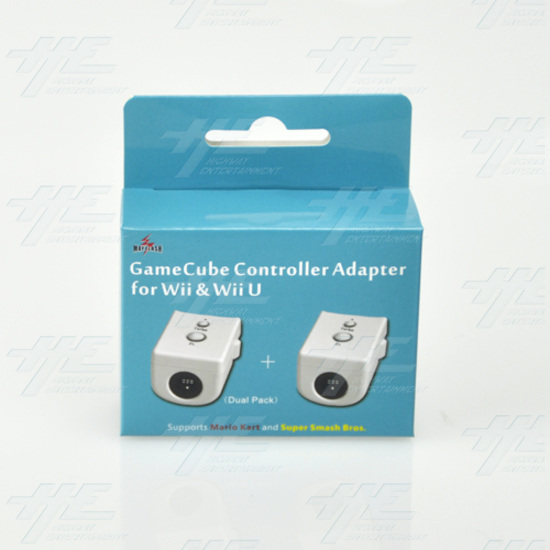 Mayflash Gamecube Controller Adapter For Wii & Wii U (Dual Pack), White - w0142 1.jpg