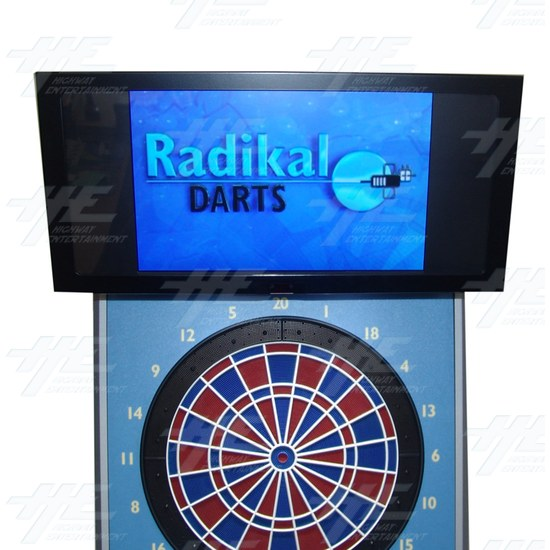 Radikal Darts Electronic Dart Machine - screenshot