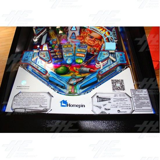 Thunderbirds Pinball Machine - Thunderbirds Pinball Machine 09