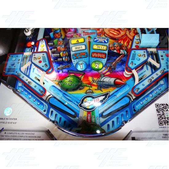 Thunderbirds Pinball Machine - Thunderbirds Pinball Machine 10