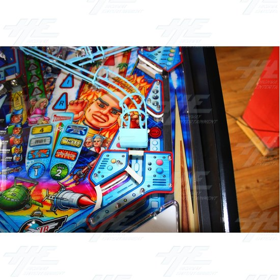 Thunderbirds Pinball Machine - Thunderbirds Pinball Machine 11