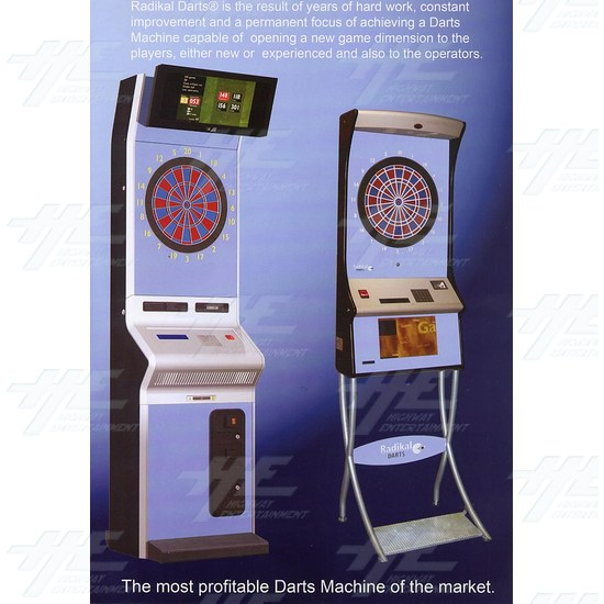 Radikal Darts Electronic Dart Machine - Brochure Inside 02