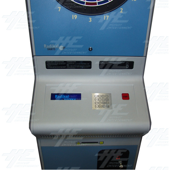 Radikal Darts Electronic Dart Machine - Panel