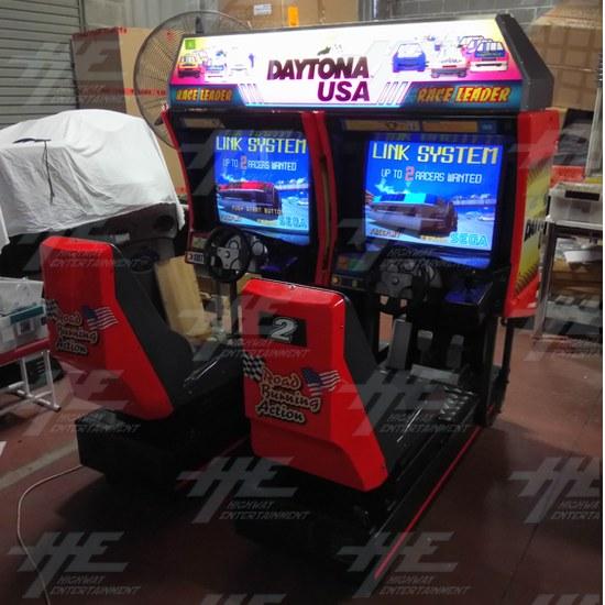 Daytona USA Twin Driving Arcade Machine (Japan Model) - Daytona Twin