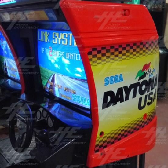 Daytona USA Twin Driving Arcade Machine (Japan Model) - right side