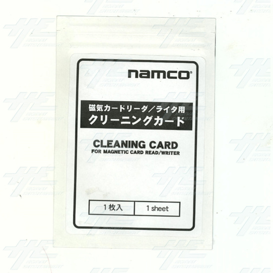 Namco Cleaning Card for Magnetic Card Reader/Writer (Z) -  Cleaning Card for Magnetic Card Reader/Writer