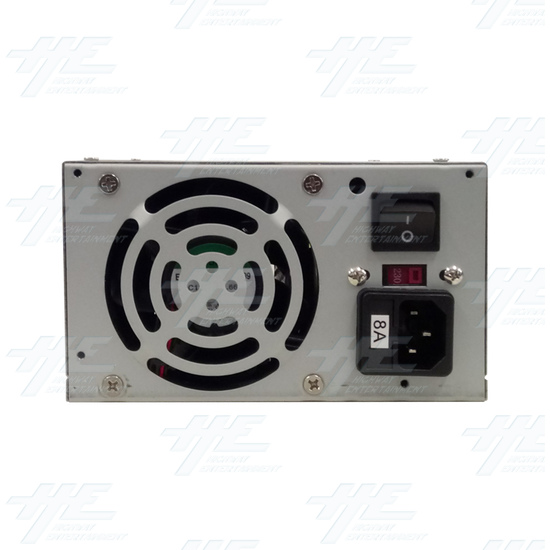 Power Supply for Crane Machines P2040G Series - Switching power supply Back View