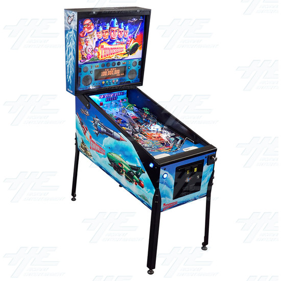 Thunderbirds Pinball Machine (12mths warranty on everything...!) - Thunderbirds pinball