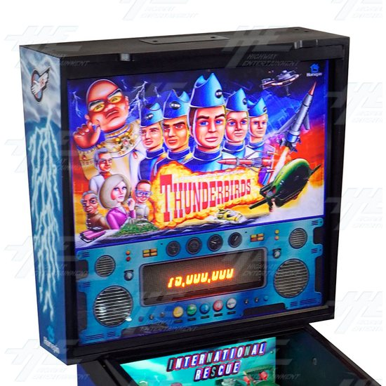 Thunderbirds Pinball Machine (12mths warranty on everything...!) - Thunderbirds Pinball Machine 04