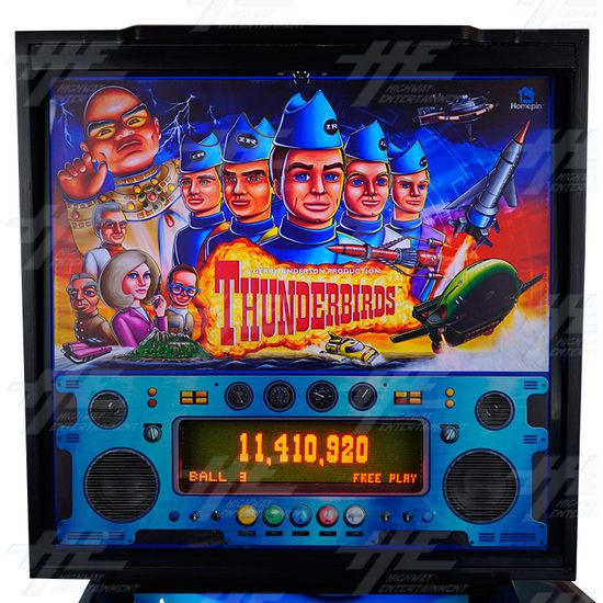 Thunderbirds Pinball Machine (12mths warranty on everything...!) - Thunderbirds Pinball Machine 05