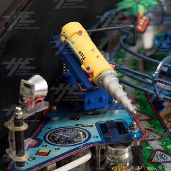 Thunderbirds Pinball Machine (12mths warranty on everything...!) - Mole 02