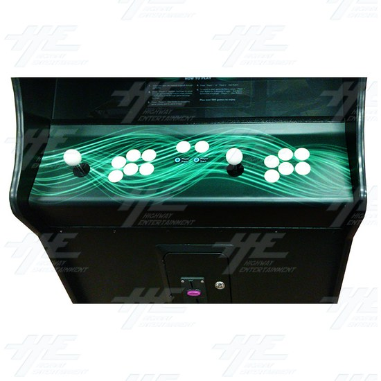 Game Wizard Venus Arcade Machine - Showroom Model - Control Panel