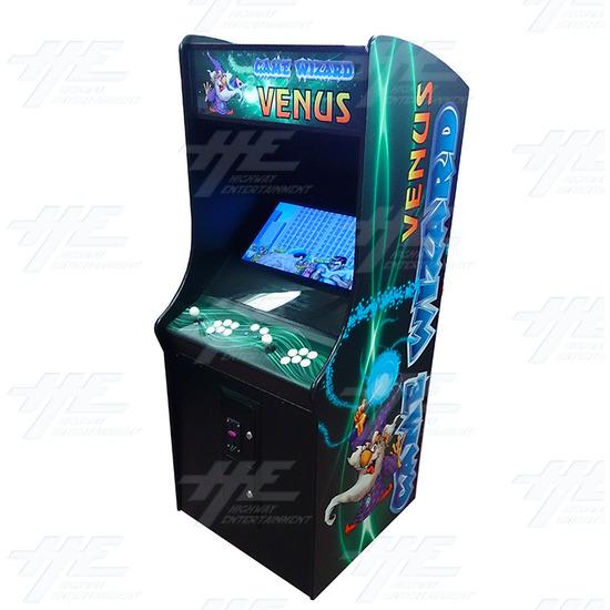 Game Wizard Venus Arcade Machine (Missing Grill) - Full View