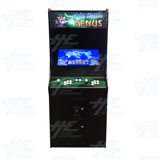 Game Wizard Venus Arcade Machine (Missing Grill) - Front View