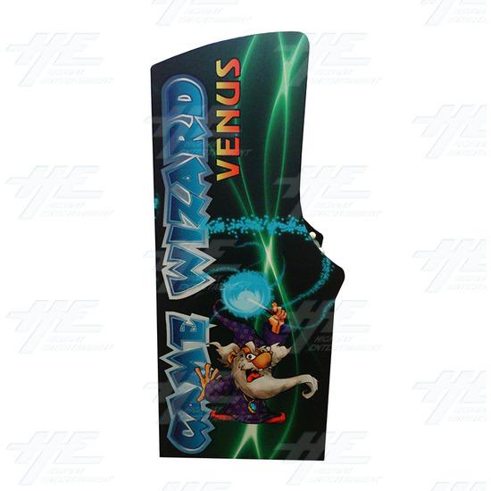 Game Wizard Venus Arcade Machine (Missing Grill) - Right View