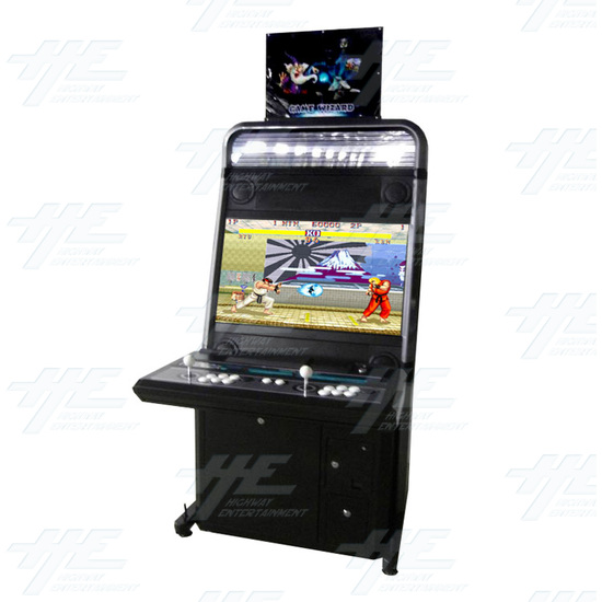 Game Wizard Xtreme Grey Version Arcade Machine - Full View 1