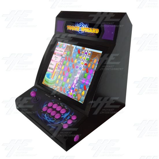 Touch Wizard Desktop (Joystick Model - Purple Version) - Full View