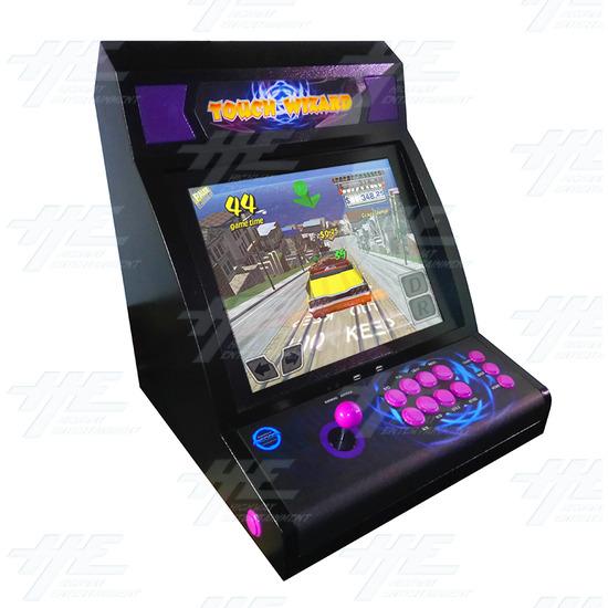 Touch Wizard Desktop (Joystick Model - Purple Version) - Angle View