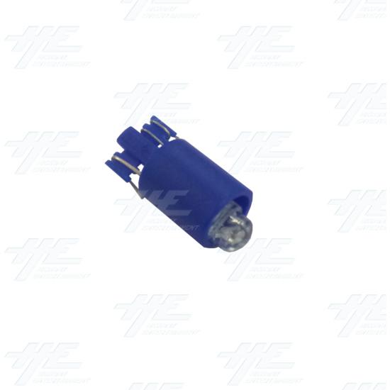 Player 2 (P2) Push Button for Arcade Machines - Blue Illuminated - Blue LED