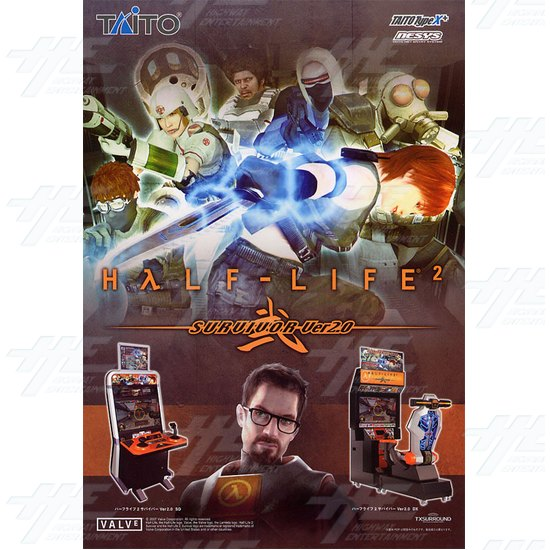Half Life 2 Survivor v2.0 SD Arcade Machine - Brochure Front